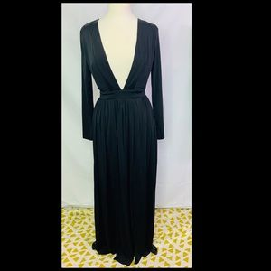 forever 21 m-slit maxi dress NWT XS
